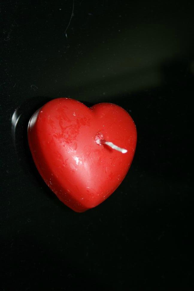 ljus hjärta