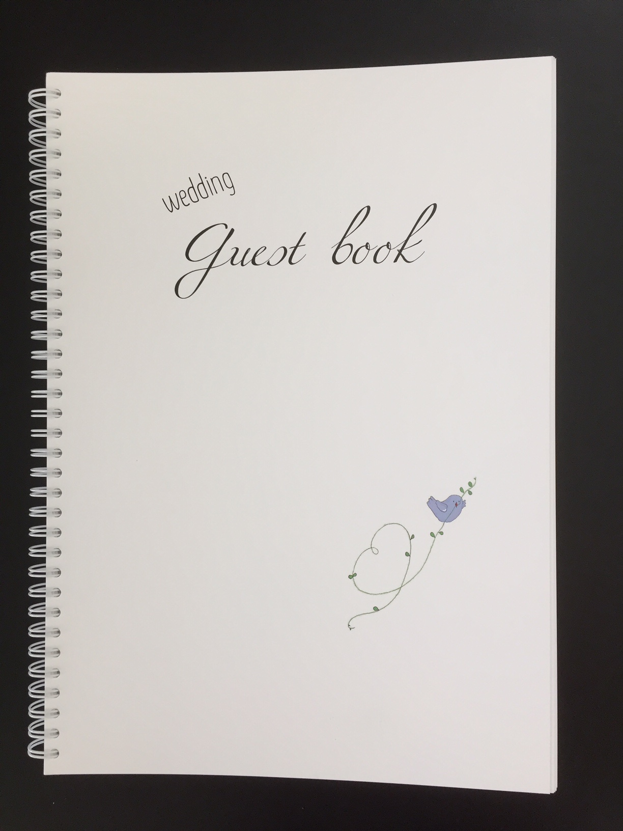 Gästbok på engelska