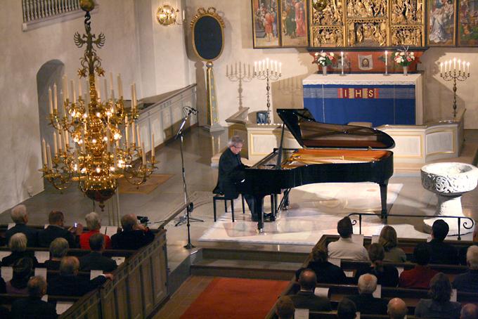 Premiärkonserten med Staffan Scheja den 17 december 2011.
