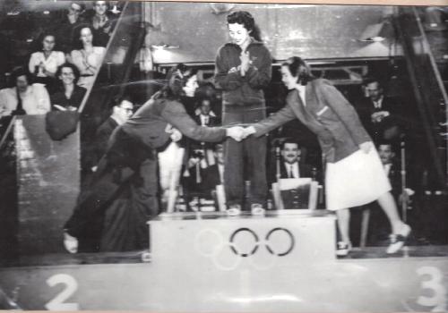 Karriärens peak - OS-bronset i London 1948