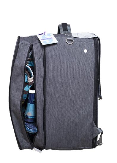 Smartpack Exclusive ekstrarom barnehagebag weekendbag treningsbag lekekasse