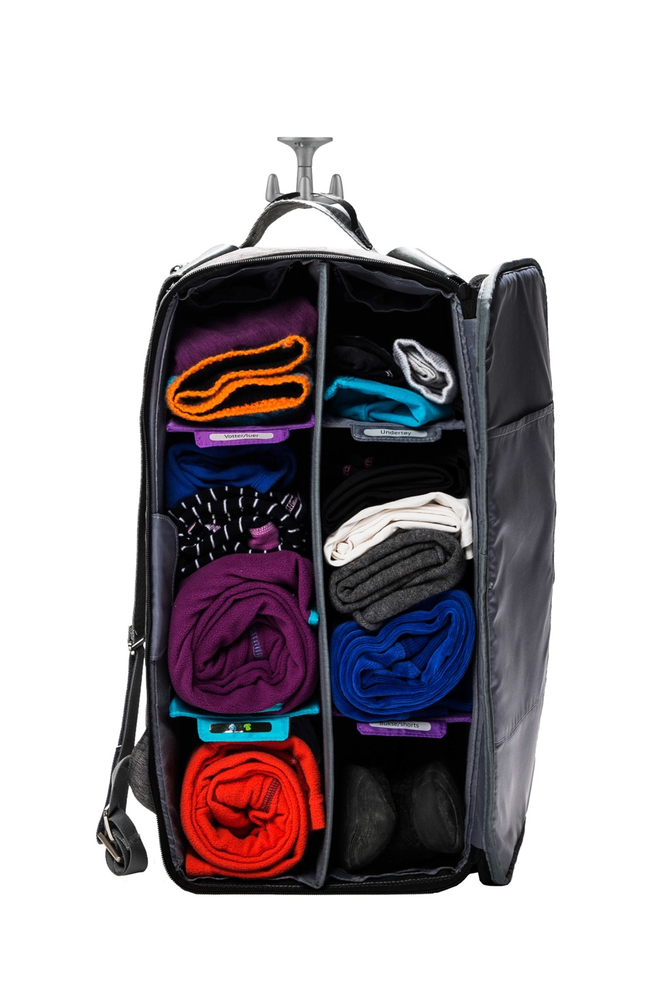 Smartpack Exclusive med krok barnehagebag weekendbag treningsbag lekekasse
