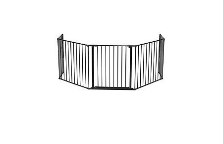 56816 Configure XL hearth gate black closed door in the middle NBG