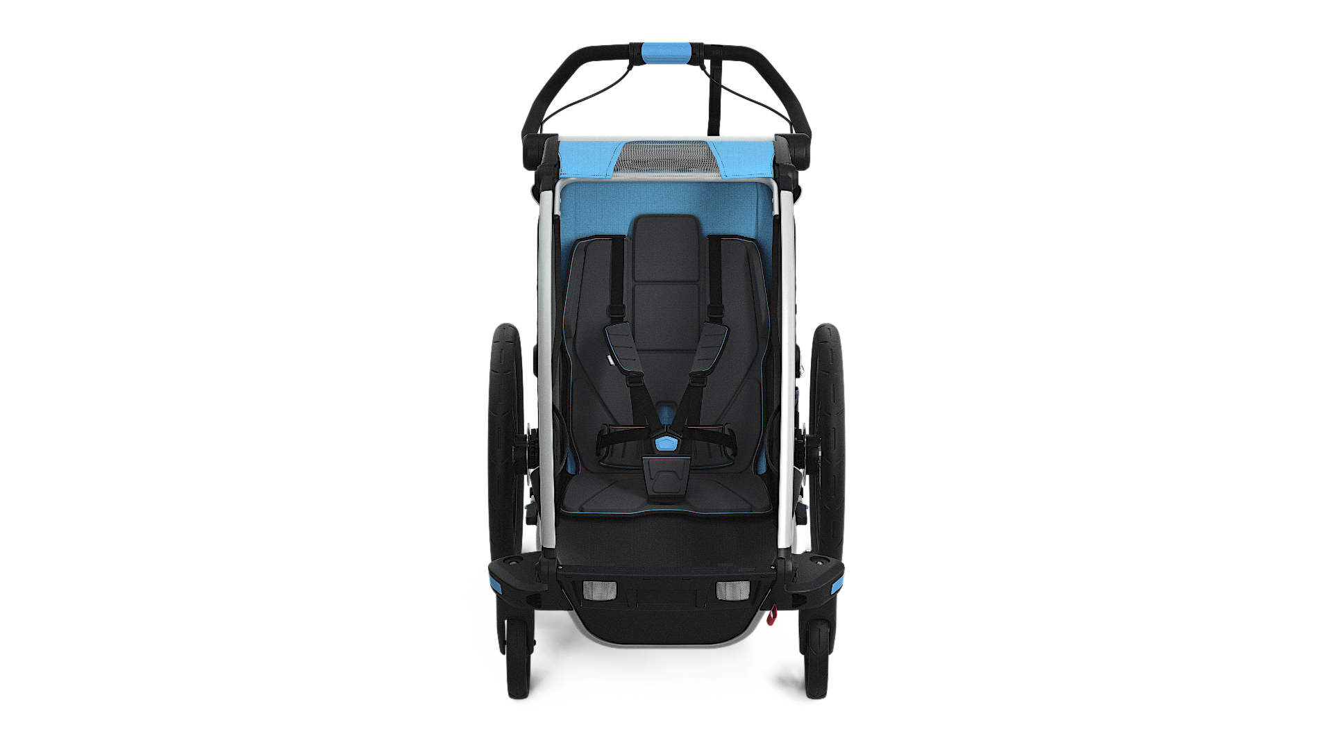 Thule_Chariot_Sport1_ThuleBlue_Strolling_FRONT_10201001