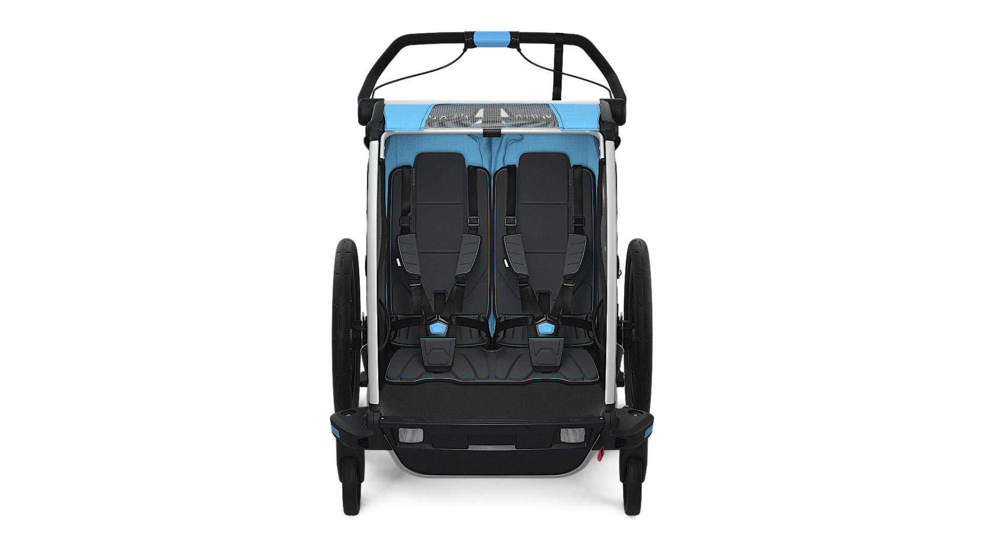 Thule_Chariot_Sport2_ThuleBlue_Strolling_FRONT_10201003