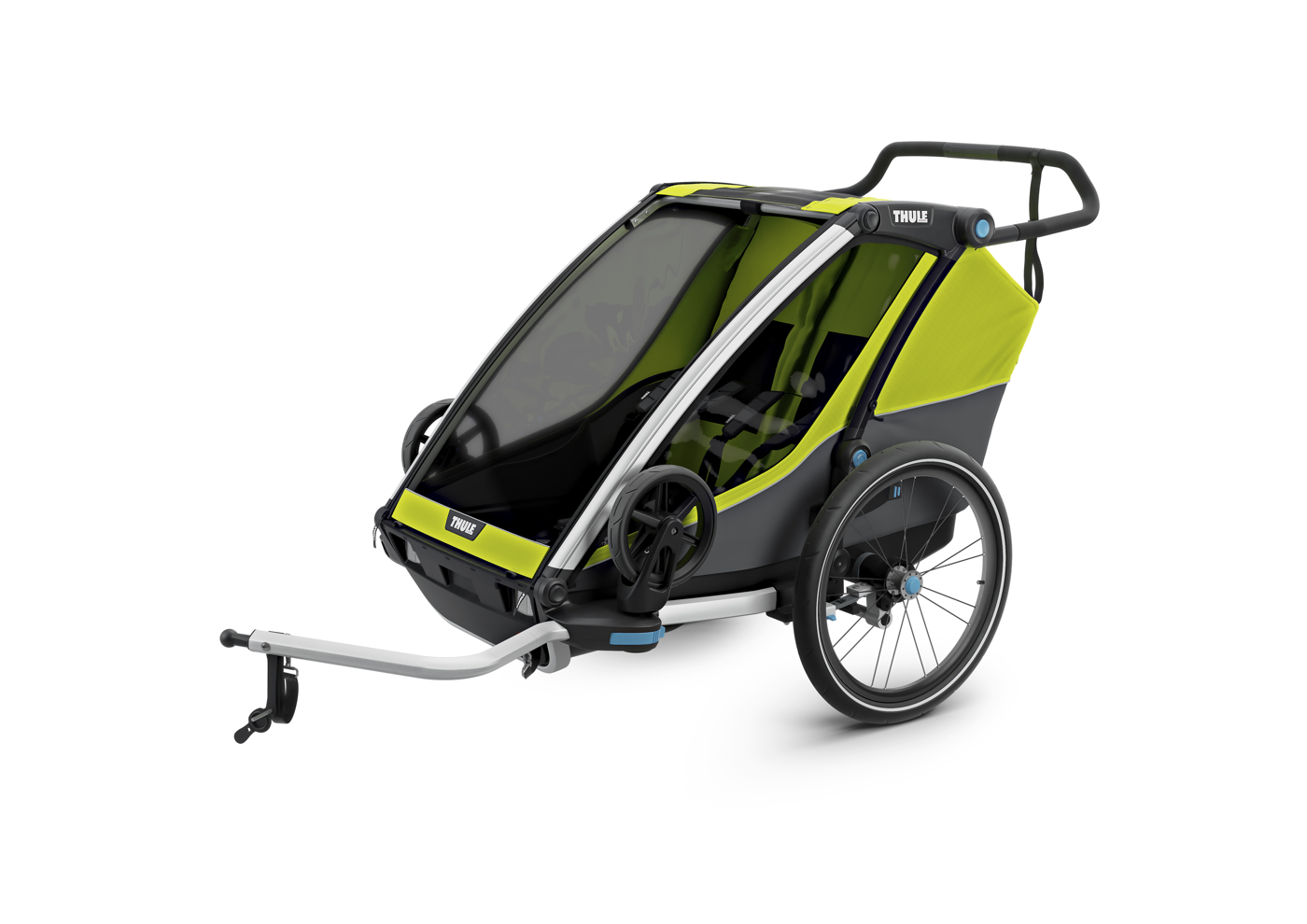 Thule_Chariot_Cab2_Chartreuse_Cycling_ISO_10204001