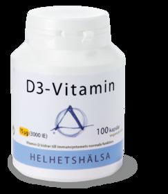 D3-vitamin 3000IE - 75 mcg -