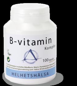 B-vitaminkomplex - 100 kapslar
