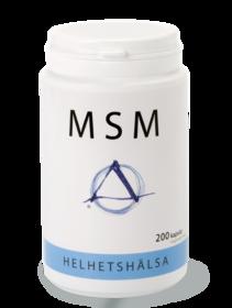 MSM OptiMSM – 200 kapslar Helhetshälsa -