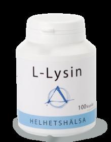 L-Lysin 100 kapslar -