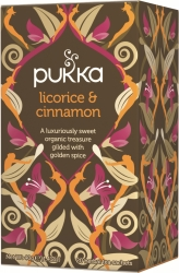 Pukka te – Licorice & Cinnamon -