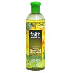 Badskum/duschgel Ananas & Lime