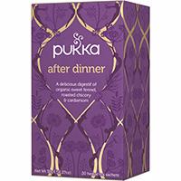 Pukka te - After Dinner
