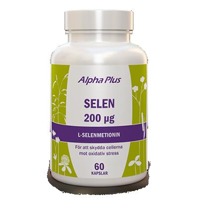 Selen-200-µg-60-kap-L-Selenmetionin-Alpha-Plus-Kosttillskott
