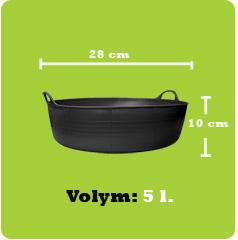 Tubtrug-5L-storleksskiss