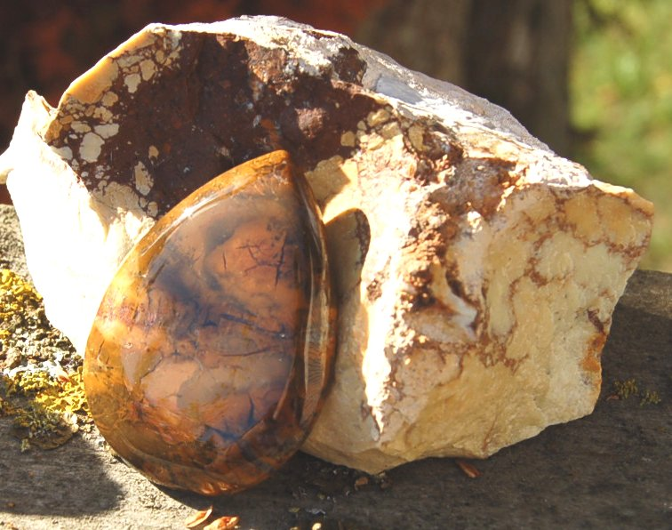 Jaspis Palm stone