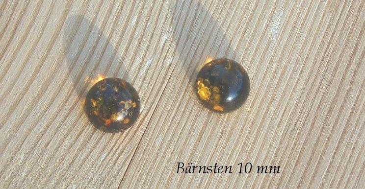 Bärnsten 10mm