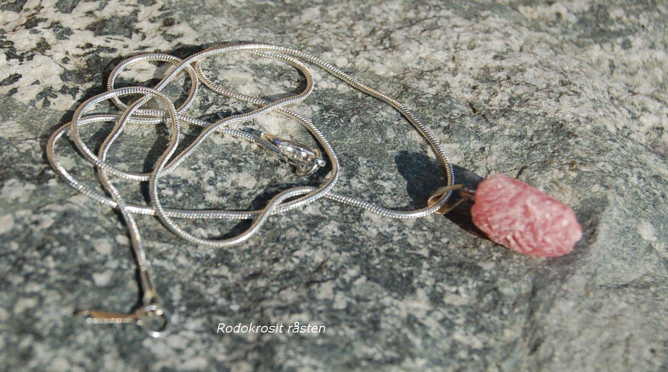 Rodokrosit råstens smycke - 2