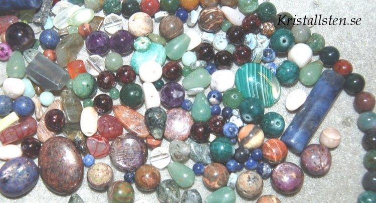 Mix stenpärlor