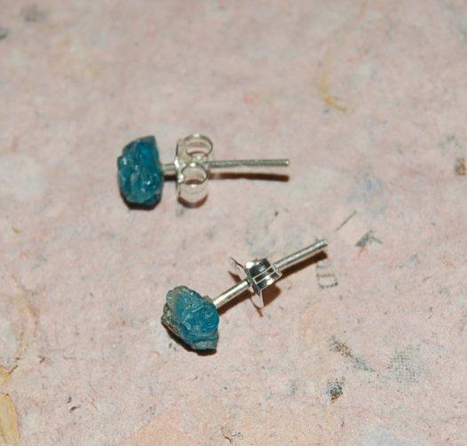 Apatit örhängen silver 2