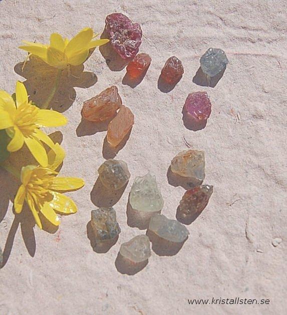 Multi Safir små stenar