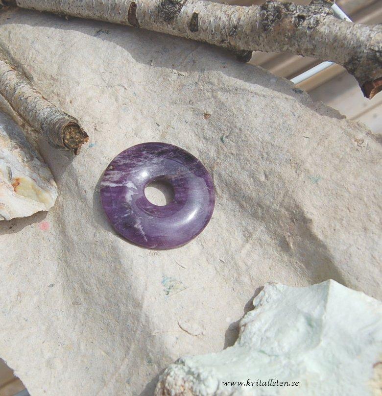 Purpleheart donut 40mm 2
