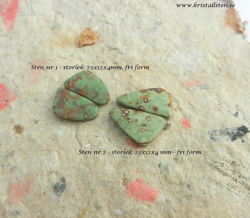 Pistachio opal 4 - lista