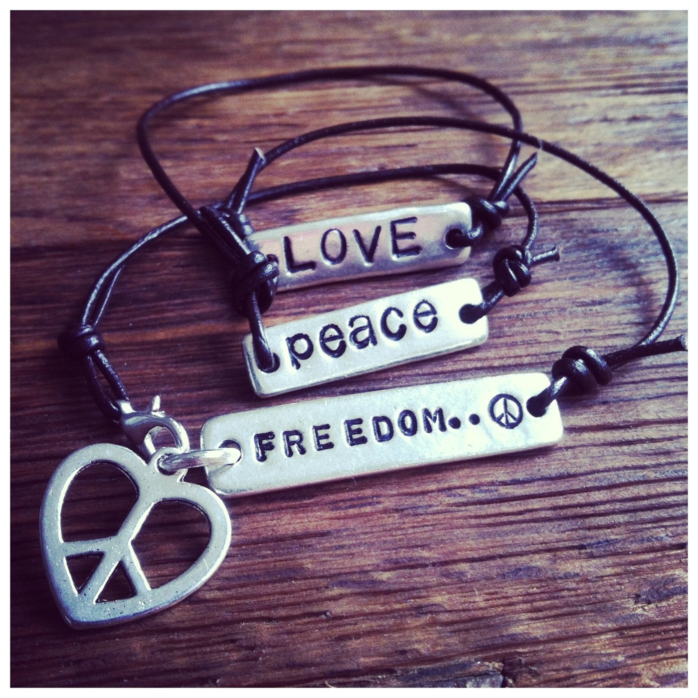 LOVE PEACE FREEDOM