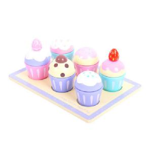 BigJigs Candy Floss Muffi Tray - BigJigs Candy Floss Muffi Tray