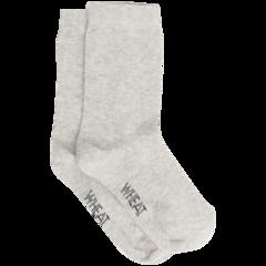 Wheat Socks Plain Melange Grey - Wheat Socks Plain Melange Grey ( Storlek 35-39 )