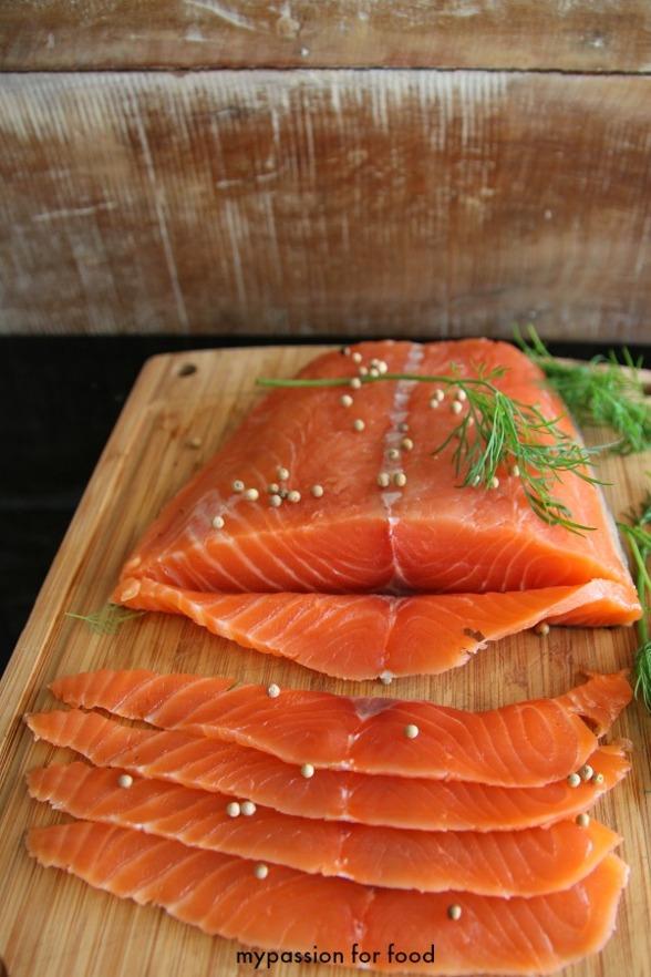 Dill-Cured Salmon - Gravad Lax