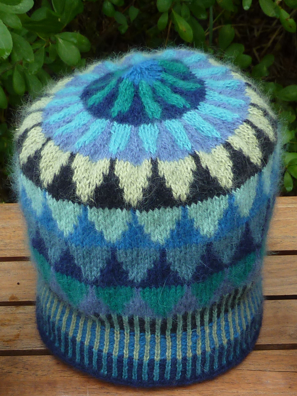 Little Spruces hat kit blue Silfverberg Design