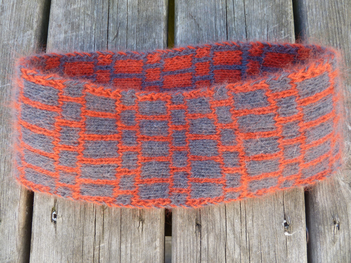 Doubleknitted headband kit Silfverberg Design