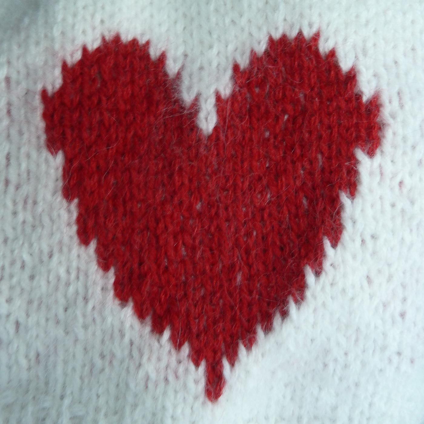 Angora med hjärtat