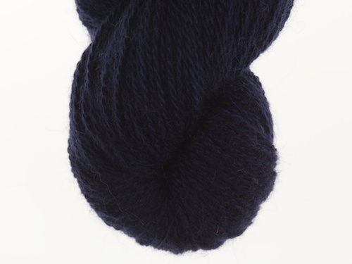 Bohus Stickning garn yarn BS 196 darkblue main color
