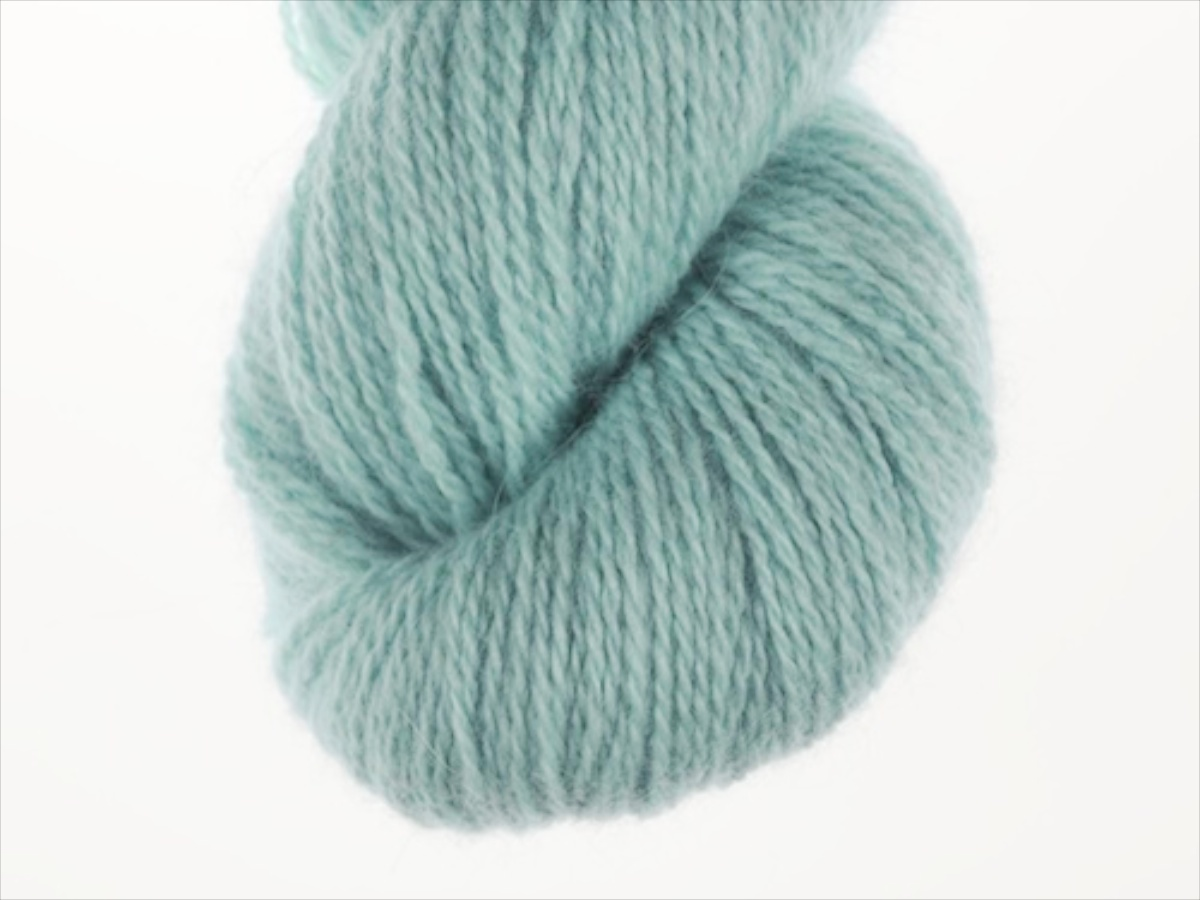 Bohus Stickning garn yarn BS 332 light turquoise-blue