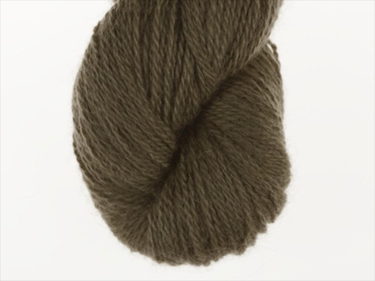 Bohus Stickning garn yarn BS 195 dark green olive main color