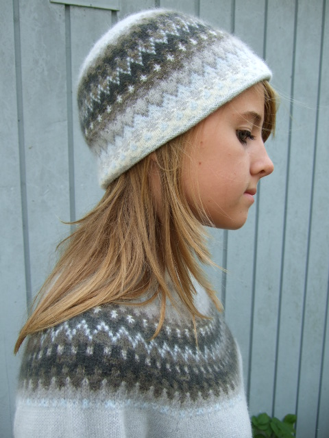 Bohus Stickning Gotiska Fönstret pullover/cardigan kit