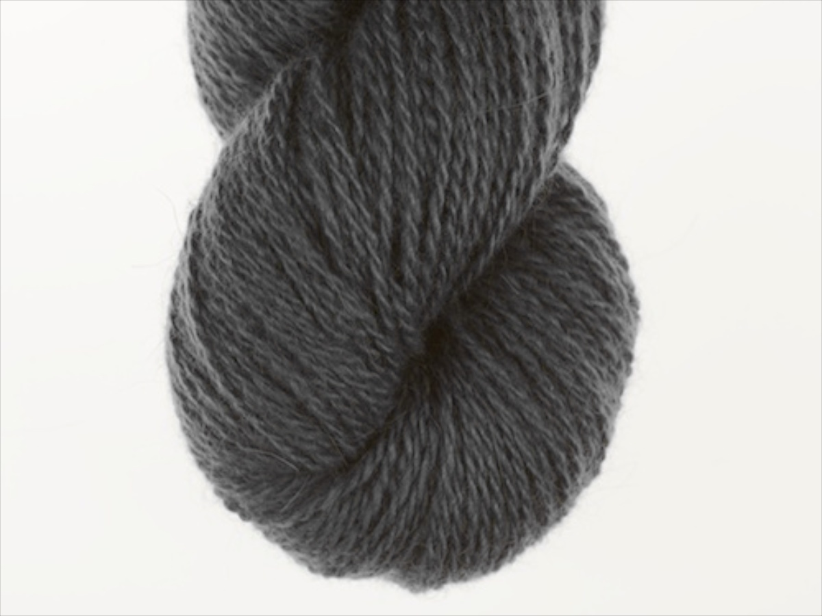 Bohus Stickning garn yarn BS 318 dark gray maincolor