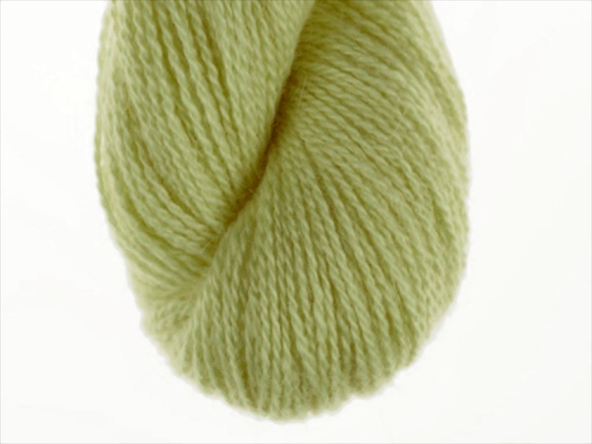 Bohus Stickning garn yarn BS 47 yellow-green