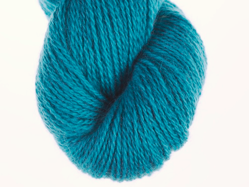 Bohus Stickning garn yarn BS 260 dark turquoise blue