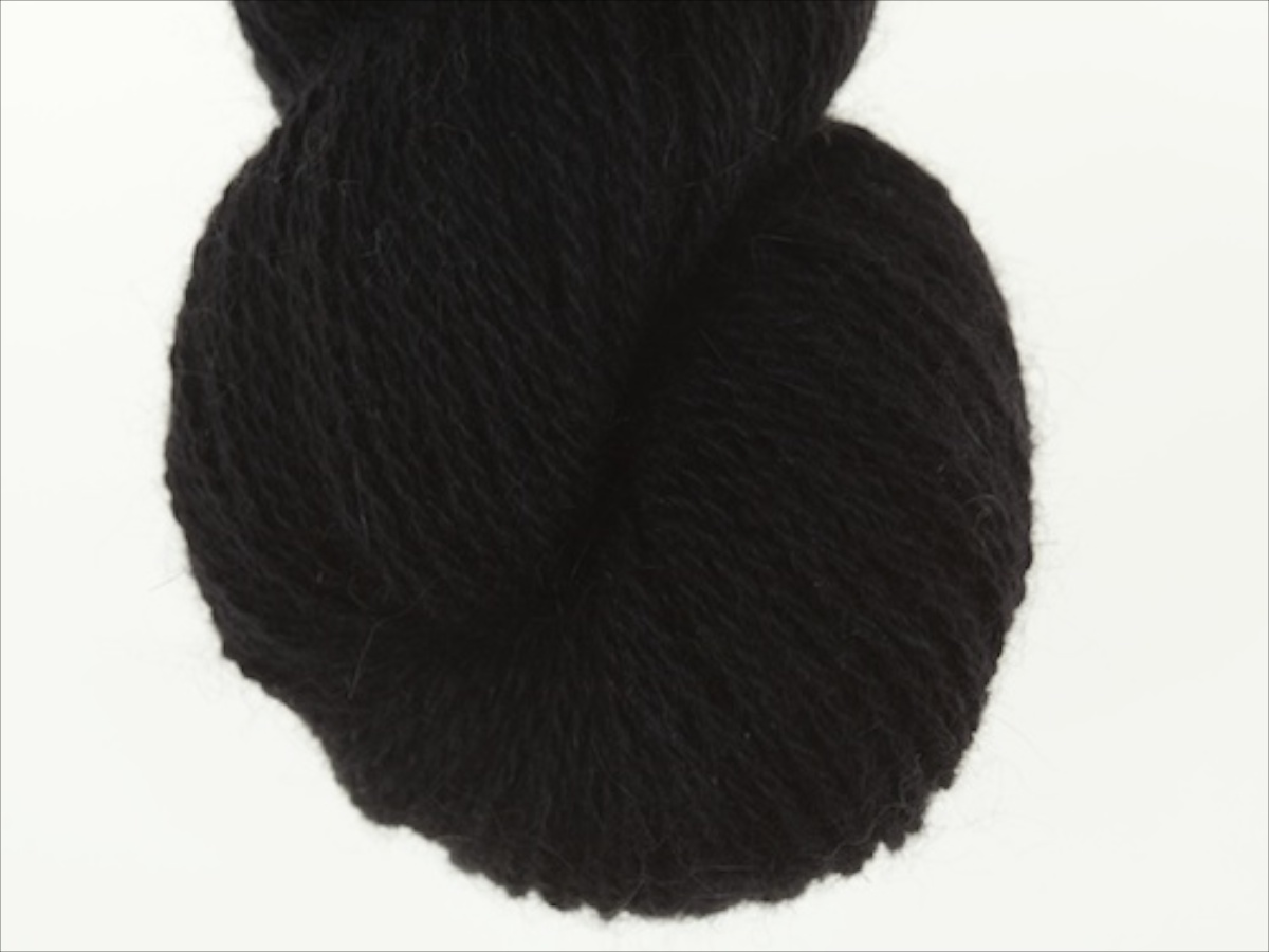 Bohus Stickning garn yarn BS 200 black mc