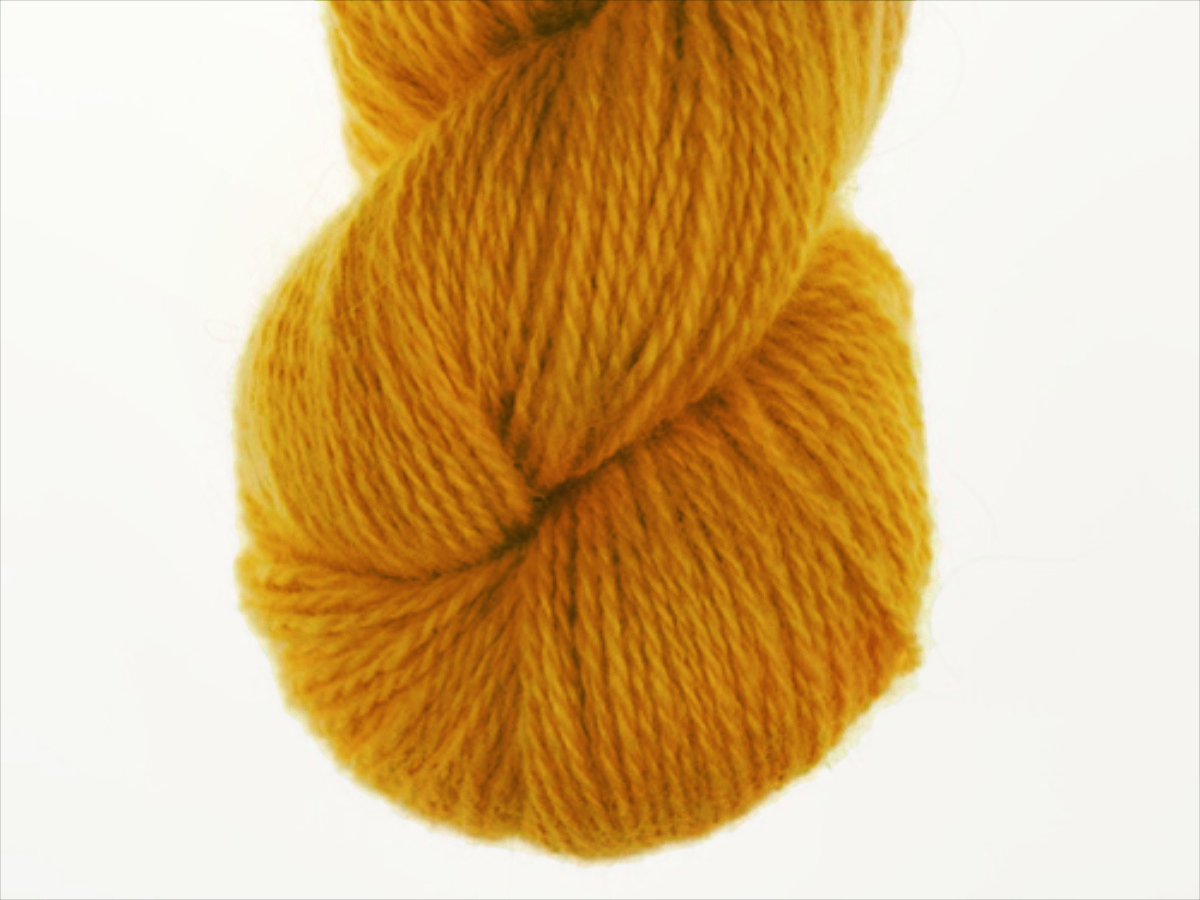Bohus Stickning garn yarn BS 140 yellow-orange