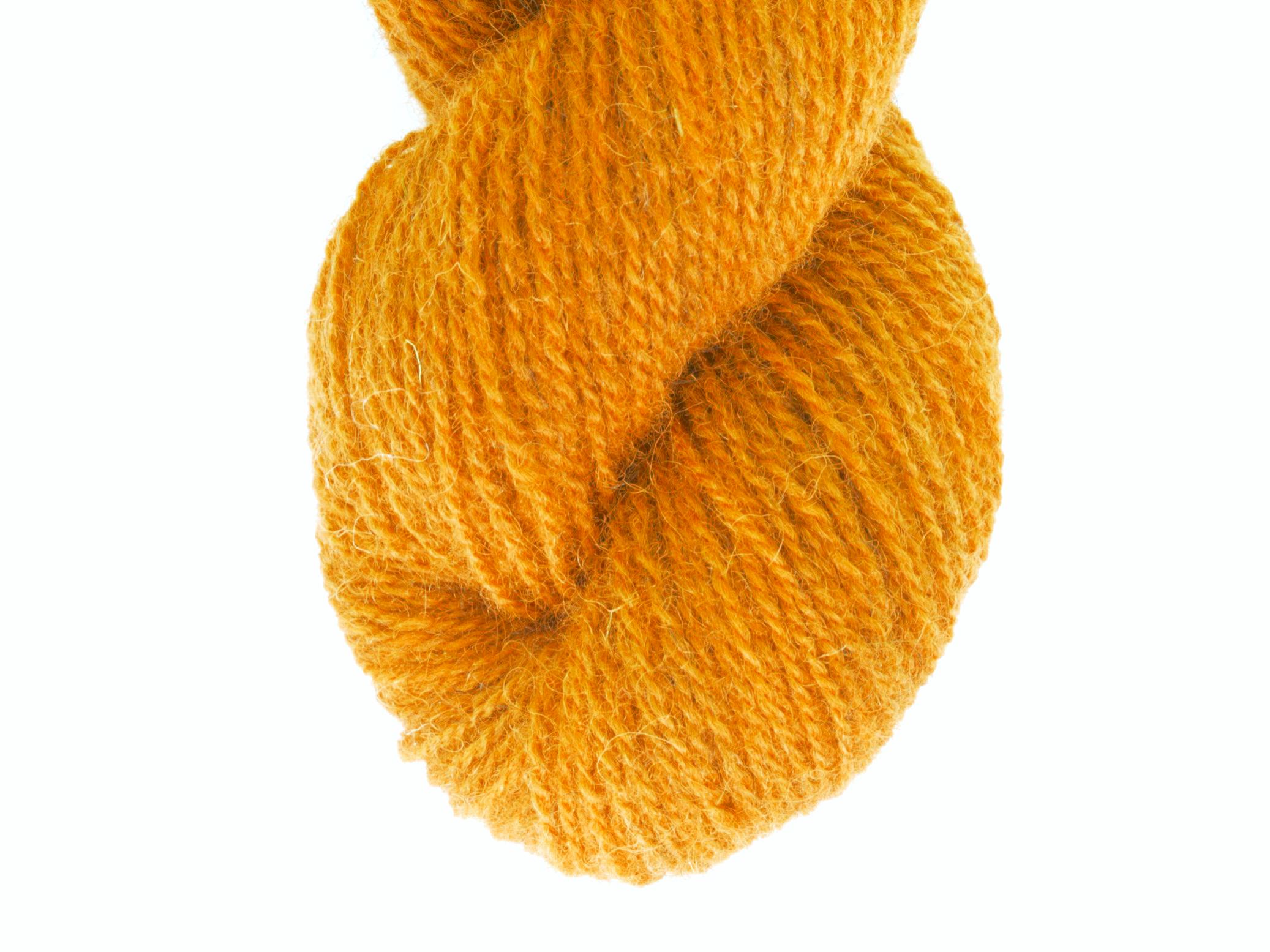 Bohus Stickning garn yarn BS wool 236 orange