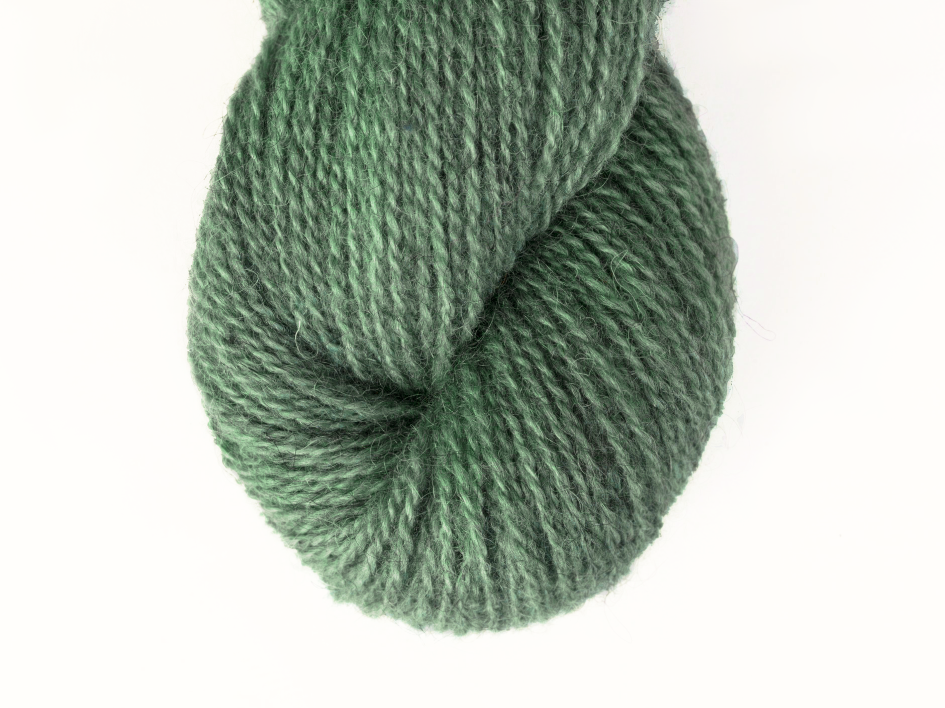 Bohus Stickning garn yarn BS 225 green wool