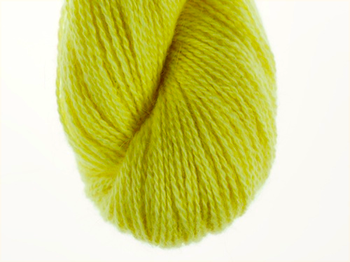 Bohus Stickning garn yarn  BS 41 yellow-green
