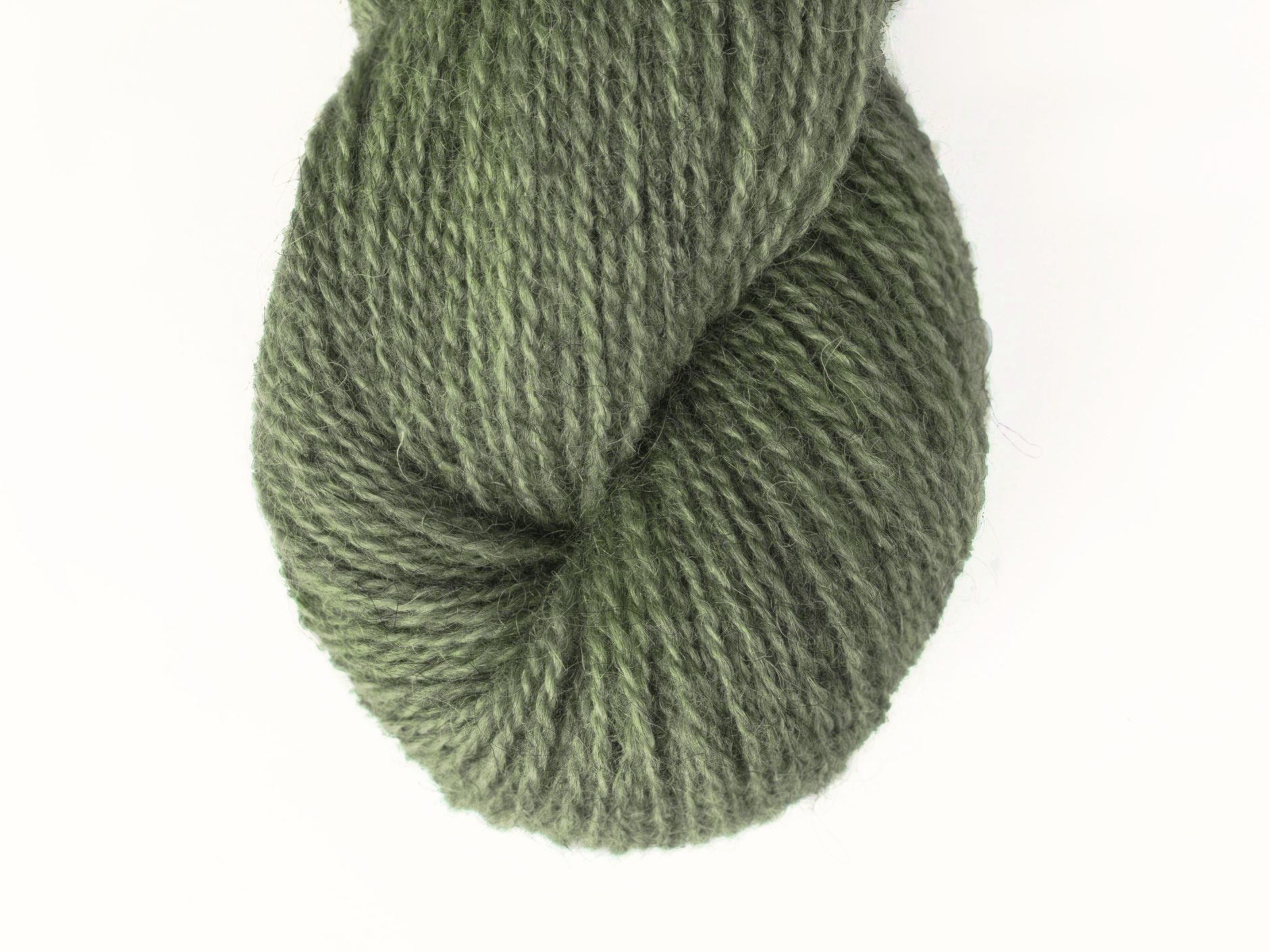 Bohus Stickning garn yarn BS 270 wool green