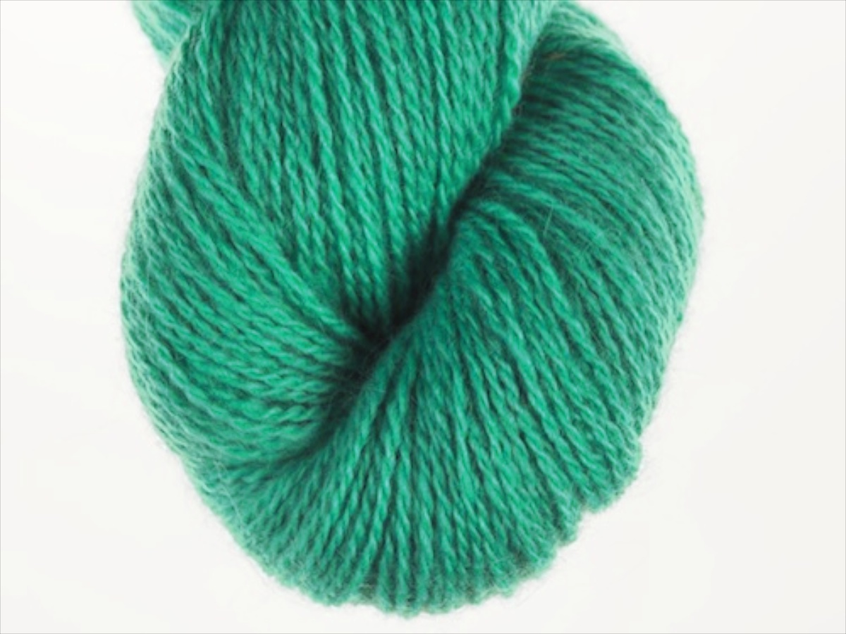 Bohus Stickning garn yarn BS 254 light blue-green main color