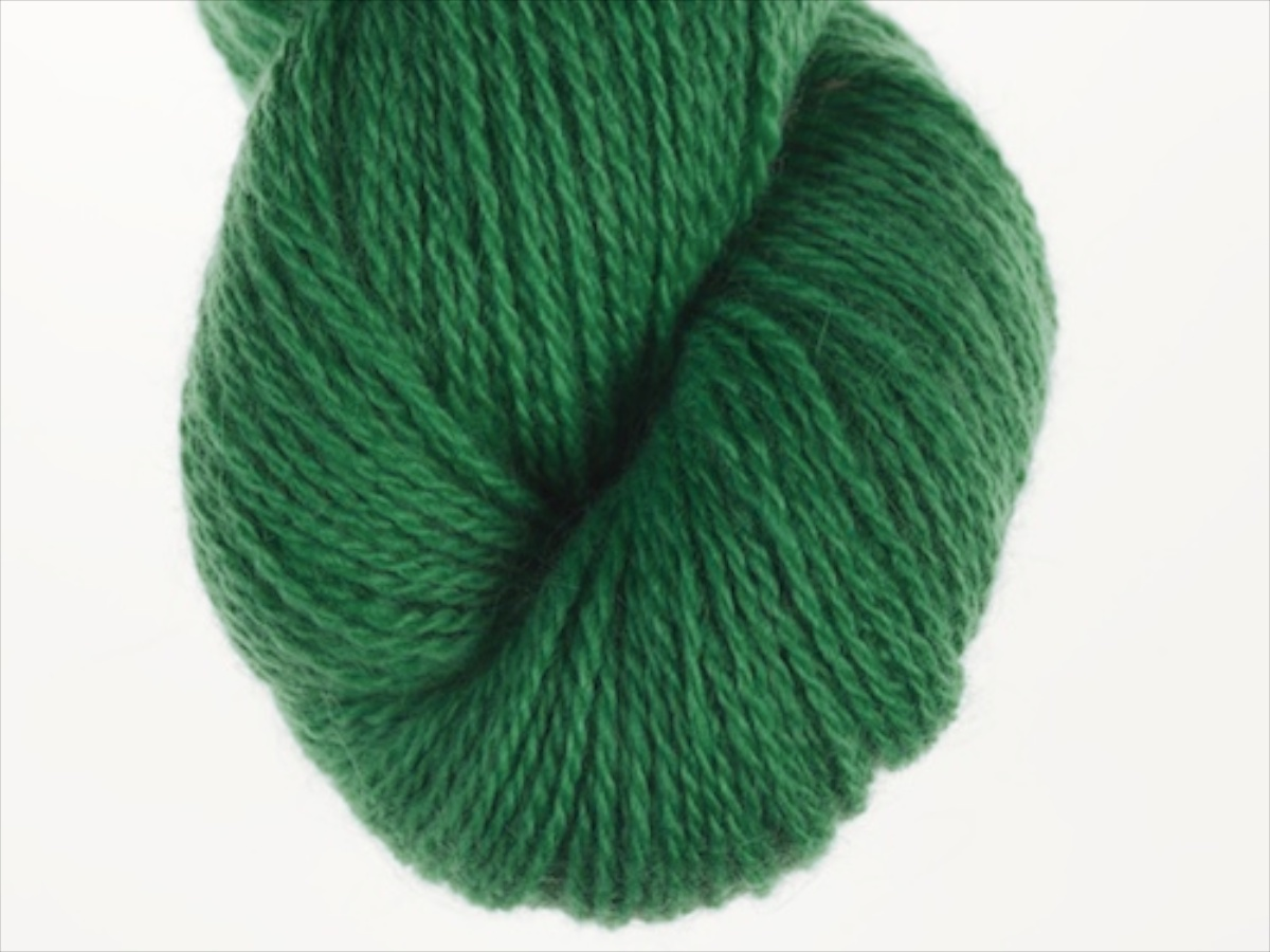 Bohus Stickning garn yarn BS 131 darker yellow-green