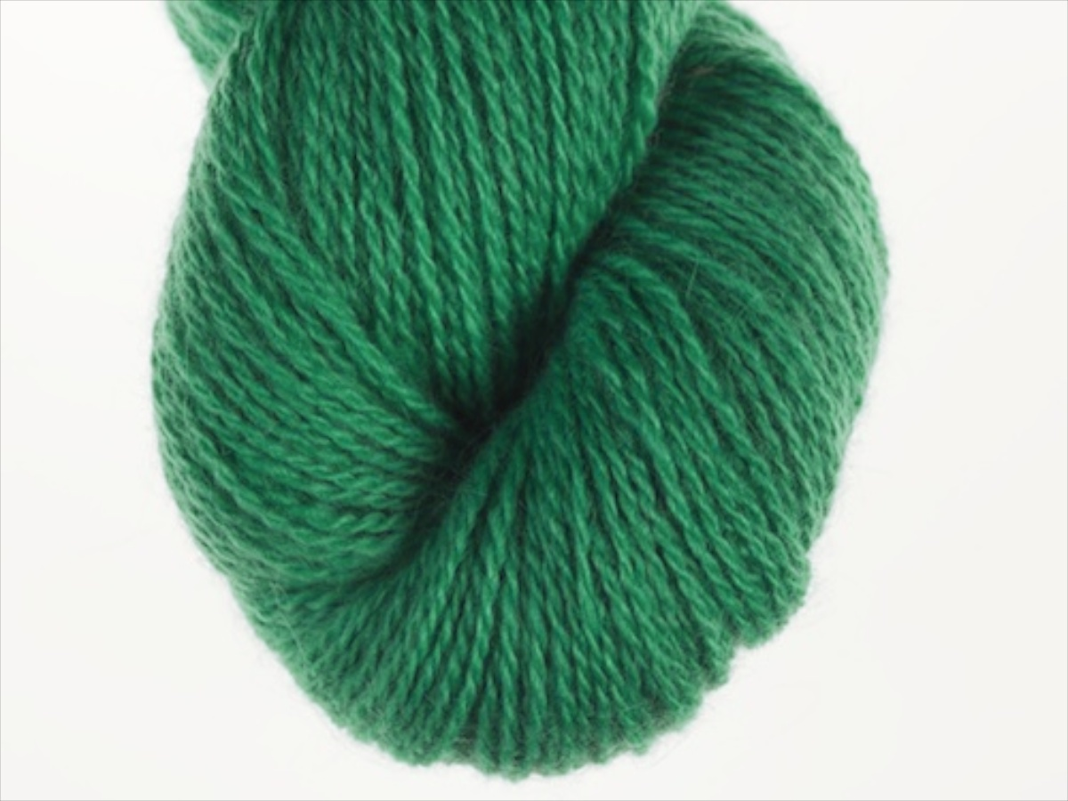 Bohus Stickning garn yarn BS 124 yellow-green